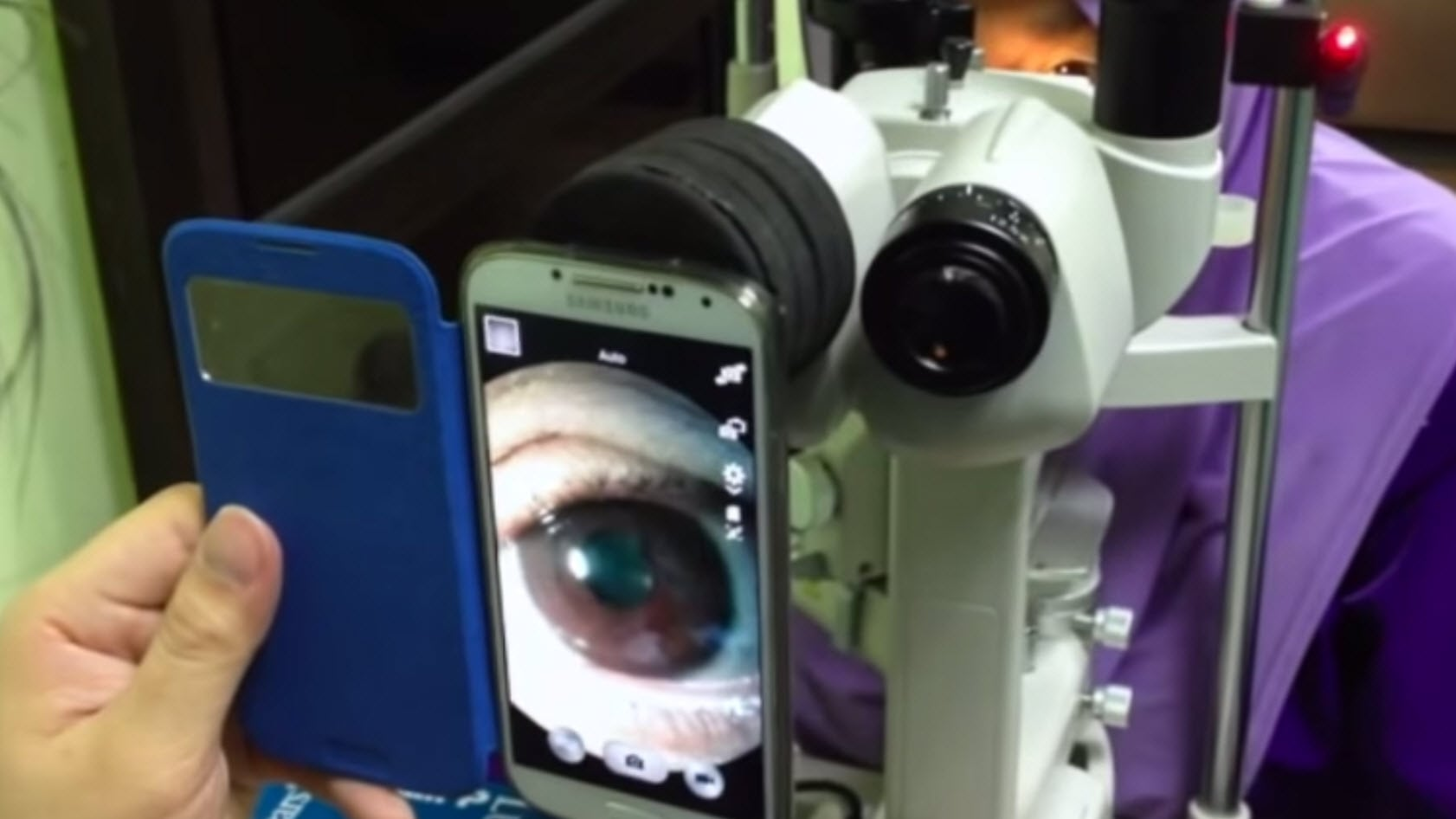 Ophthalmology Gets A Smartphone Boost